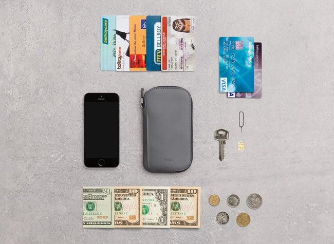 Elements Phone Pocket 収納力