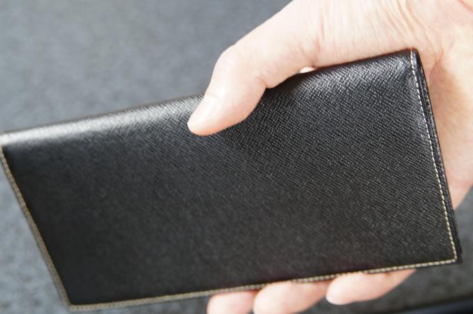 FRUH 薄い長財布 サイズ感