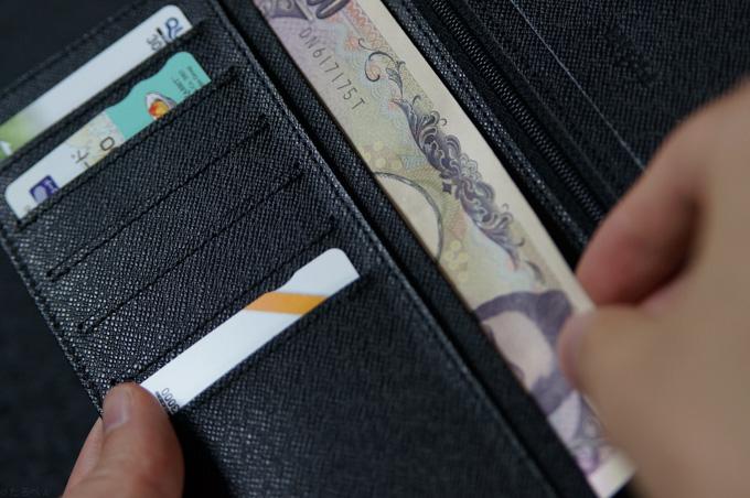 FRUH 薄い長財布 紙幣