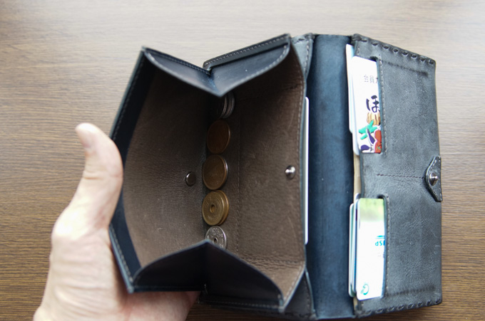 safuji ミニ長財布 小銭入れの使い勝手