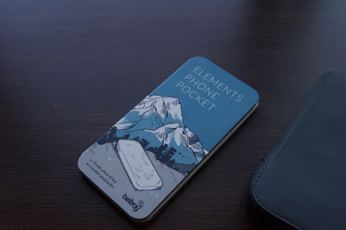 ELEMENTS PHONE POCKET 説明書