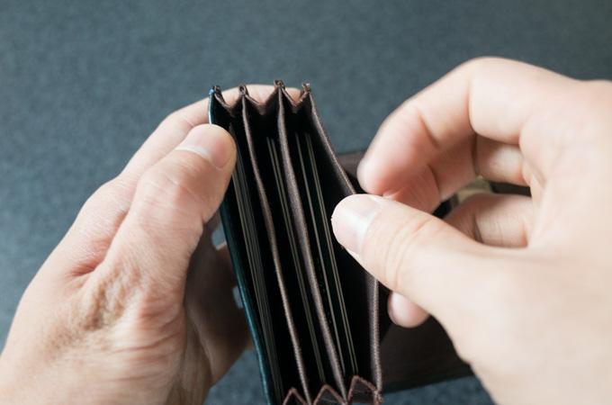 ミッレフォッリエ カード入れ