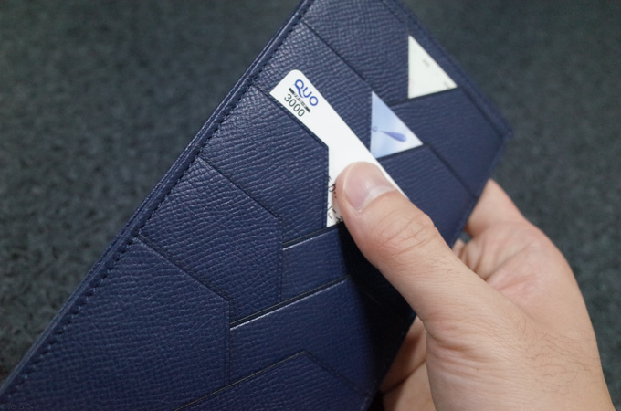 ALBERTE長財布 カード入れ