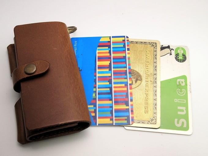 safuji キー付きミニ財布納富バージョンのサイズ感
