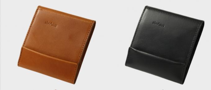 abrAsus薄い財布 ブッテーロ