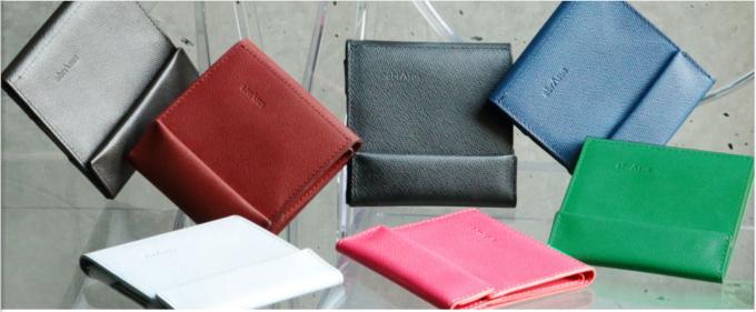 abrAsus薄い財布 カラー