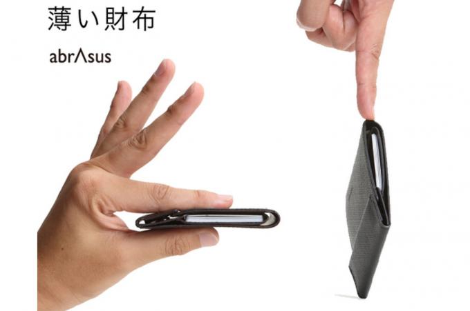 薄い財布 abrAsus
