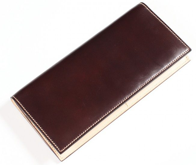 万双コードバン 長財布
