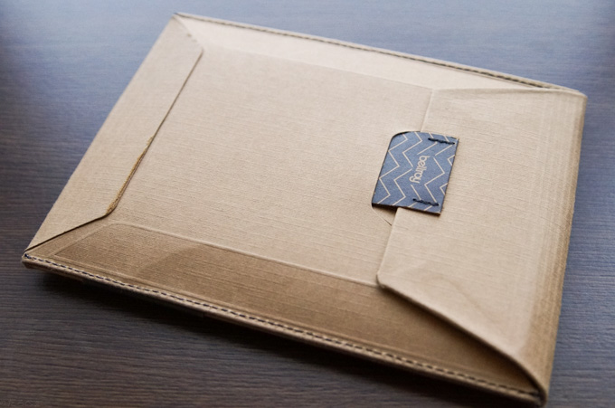 bellroy TRAVEL WALLET パッケージ