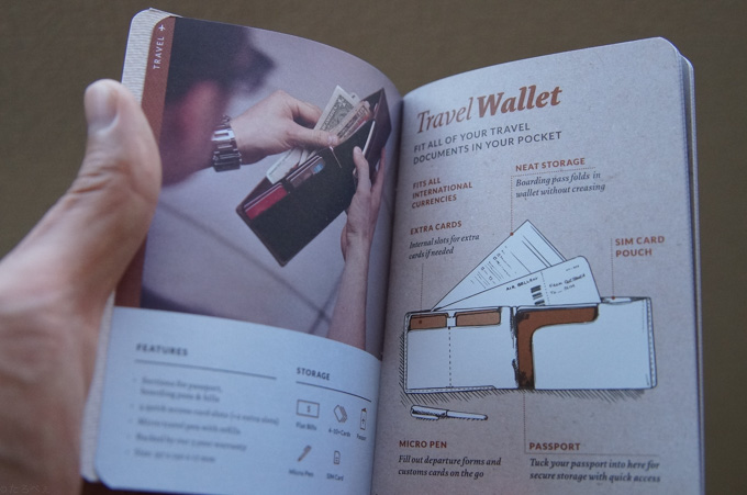 bellroy TRAVEL WALLET 特徴