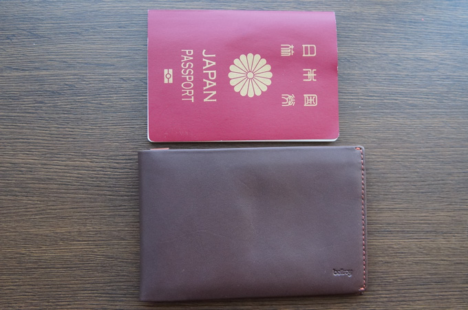 bellroy TRAVEL WALLET 小さい