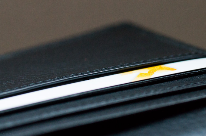 マルティーニ・オーモンドウォレット カードポケットのコバ