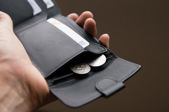 COIN FOLD コインポケットのオープン