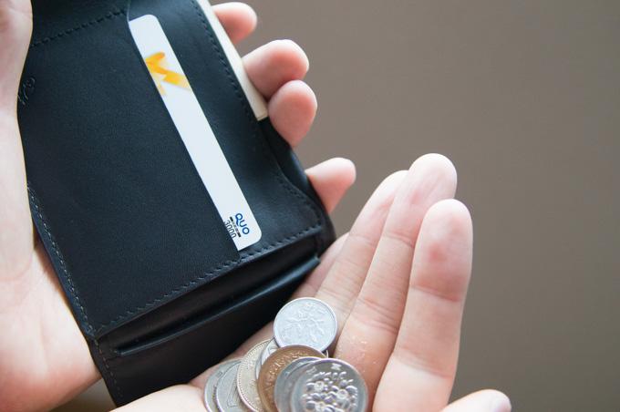 COIN FOLD コインの取り出し