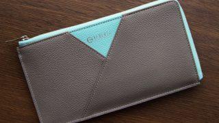 ALBERTEラウンドファスナー束入れのレビュー。スリムで使いやすい財布