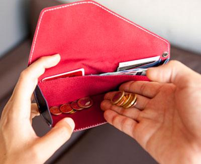 旅行財布abrAsus 大きなポケット