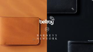 ベルロイとバーニーズニューヨークのコラボモデルが発表されました