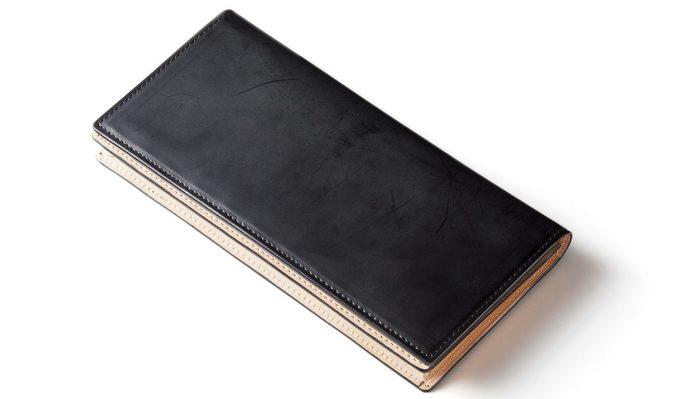 ココマイスター コードバン長財布