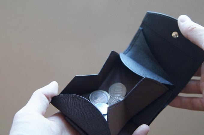 ハンモックウォレットコンパクト コインポケット