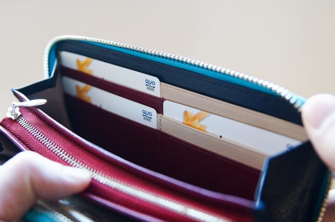 JOGGO ラウンドファスナー カードポケット1