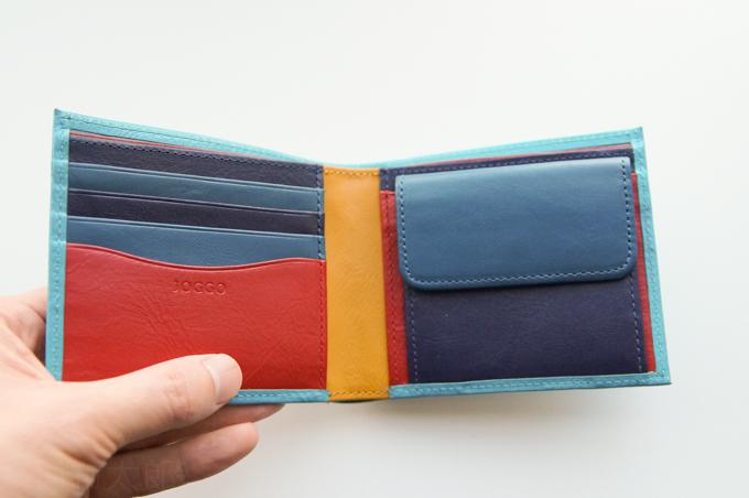 JOGGO 二つ折り財布 内装