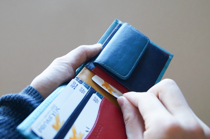 JOGGO 二つ折り財布 カードポケット3