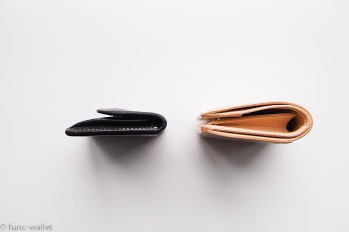 パーム タングとの厚みの比較