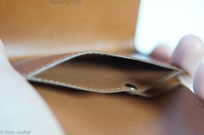 小さい財布abrAsus コインポケットのコバ