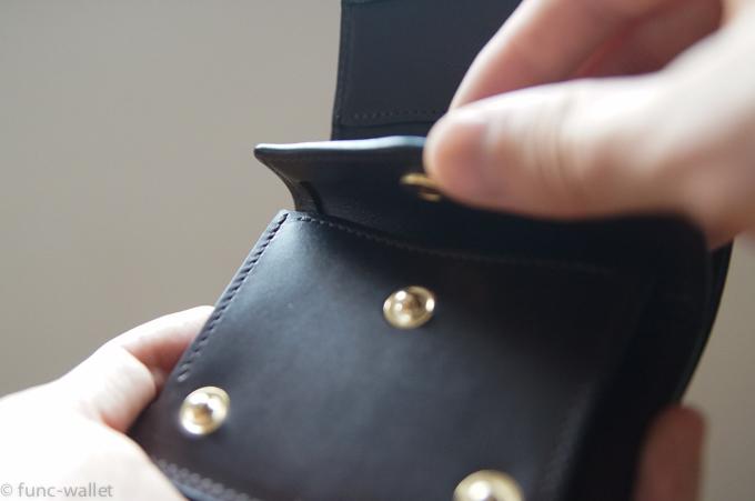 kf-003 コインポケットのボタン