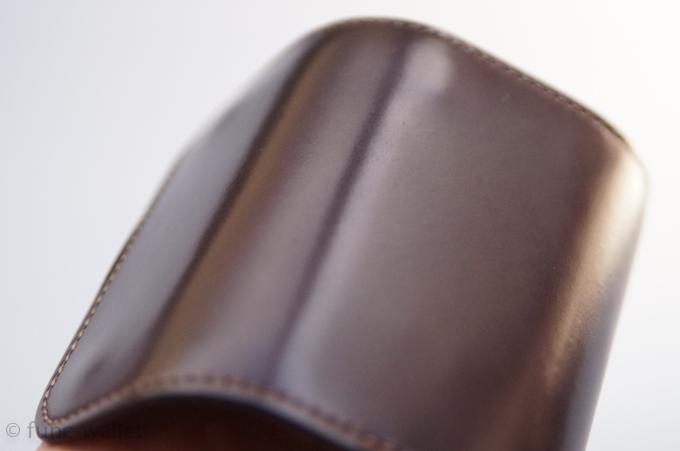 シェルコードバン クリッパー 一枚革