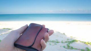 WILDSWANSの最小財布タングは、旅行に使えるのか?沖縄7日間を過ごしてみての所感