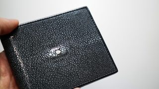 BAHARI ガルーシャ純札入れのレビュー。スリムで美しい財布にせまる