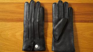 Soli ディアスキングローブのレビュー。ハンドメイド革手袋の特徴について