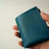 m.ripple Dew-001のレビュー。イタリアの革を贅沢に使ったコンパクトな二つ折り財布