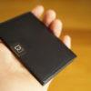 薄い財布 DUN FOLD のレビュー。小さくて薄い財布の使い勝手に迫る
