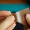 実践、シェルコードバン メンテナンス用ワックス/クリームの比較。コロニル、長谷革屋のワックスを使い比べてみての、光沢や色の変化について