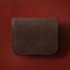WILDSWANS パーム、シャークモデルのレビュー。鮫革とイングリッシュブライドルレザーのコンパクト財布