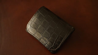 WILDSWANS パーム クロコモデルのレビュー。最高級皮革のパームの特徴・メリット・デメリット