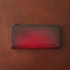 YUHAKU ベラトゥーラ L字ファスナーウォレットのレビュー。絵画的な美しさを誇るL字ファスナー長財布の使い勝手と特徴について