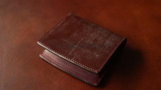 CORBO. face Bridle Leatherシリーズ G.E.Walletsのレビュー。ブライドルレザーを使ったスマートウォレットの使い勝手、特徴について