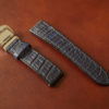 three2four WATCHBELTのレビュー。クロコダイル×エレファントの時計ベルトについて解説する