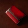YUHAKU Diamantコードバンコインケースのレビュー。レーデルオガワ社コードバン×YUHAKUの色合いを楽しめる、使いやすい財布