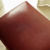 タンニン革を使った椅子はどのように変化するのか。pat woodworkingの「おあげ」 に一年間座ったエイジング